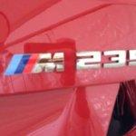 BMW M235i logo