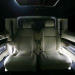 DC Design Nissan Evalia rear seat