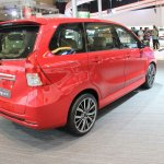 Daihatsu Xenia Scarlet rear three quarters