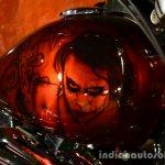 Harley Davidson India Joker customized fuel tank