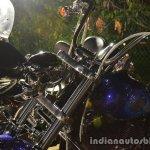 Harley Davidson India customized bike skull headlight 2