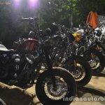Harley Davidson India southern HOG ride customized bikes