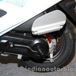 Hero Pleasure Special Edition rear suspension