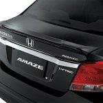 Honda Amaze Modulo trunk spoiler