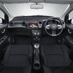 Honda Brio Amaze black interior