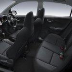 Honda Brio Amaze black interiors