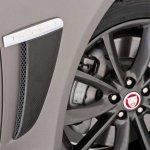 Jaguar XF Carbon Pack carbon fiber air vents