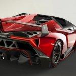 Lamborghini Veneno Roadster rear three quarter