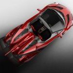 Lamborghini Veneno Roadster top view