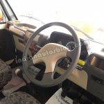 Mahindra Bolero Pik-up facelift interior