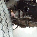 Mahindra Bolero Pik-up facelift rear suspension with extra leafs