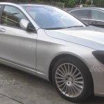 Mercedes S Class Pullman hybrid front