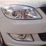 New 2014 Skoda Rapid projector headlights
