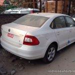 New 2014 Skoda Rapid rear