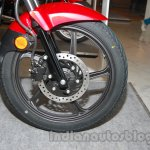 New Hero Glamour FI front disc brake