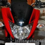 New Hero Glamour FI headlight