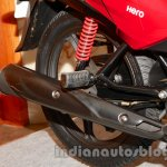 New Hero Glamour FI rear suspension