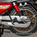 New Hero HF Dawn rear suspension