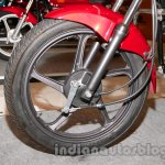 New Hero Splendor Pro JI black alloy wheels