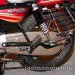 New Hero Splendor Pro JI rear suspension