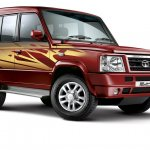 New Tata Sumo Gold side view