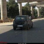 Next generation Maruti A-Star rear spied