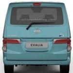 Nissan Evalia facelift rear