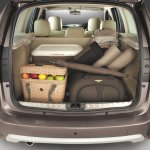 Nissan Terrano boot space