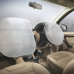 Nissan Terrano front airbags