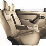 Nissan Terrano rear seat with arm rest