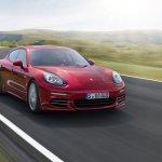 Porsche Panamera 4 facelift front