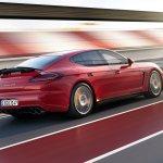 Porsche Panamera GTS facelift rear three quarters