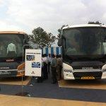 Scania India intercity busses