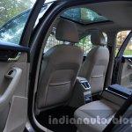 Skoda Octavia rear seat ingress