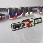 Suzuki Swift RR logo
