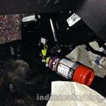 Tata Nano emax CNG CX variant fire extinguisher
