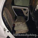 Tata Nano emax CNG LX variant rear seat