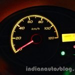 Tata Nano emax CNG LX variant speedometer and CNG icon