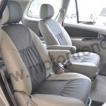 Toyota Innova Facelift rear seats