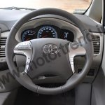 Toyota Innova Facelift steering wheel