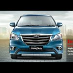 Toyota Innova facelift front-end