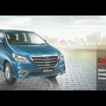 Toyota Innova facelift front three quarters