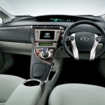 Toyota Prius PHV upgraded interiors