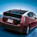 Toyota Prius PHV upgraded rear