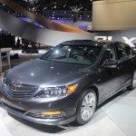 2014 Acura RLX Sport Hybrid SH-AWD front quarter