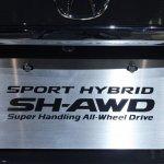 2014 Acura RLX Sport Hybrid SH-AWD number plate