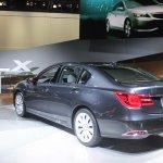 2014 Acura RLX Sport Hybrid SH-AWD rear quarter