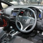 2014 Honda Fit RS steering