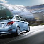 2014 Hyundai Accent  rear