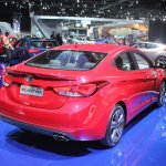 2014 Hyundai Elantra Sport rear three quarter